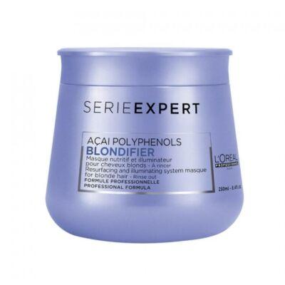 Blondifier regeneráló és fényfokozó hajpakolás 250 ml